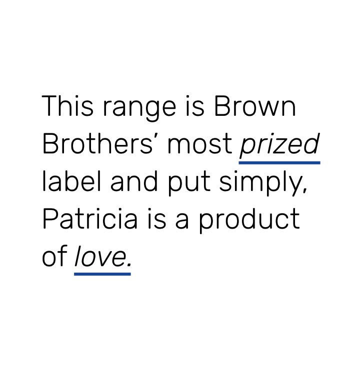 brown brothers patricia range